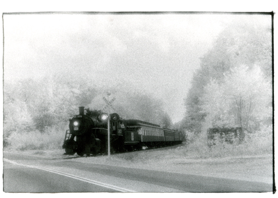 Driving Home Down Westside Road - Silver Gelatin Photography by Gwen Arkin